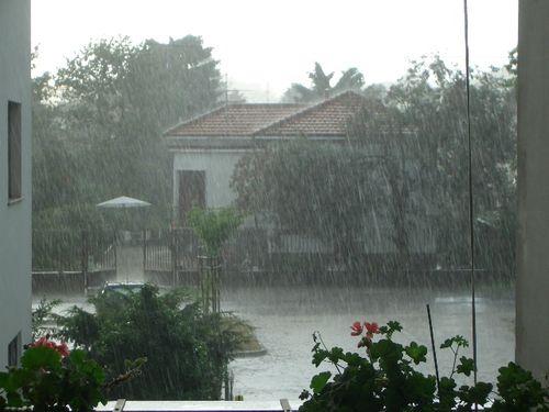 acquazzone equatoriale?!